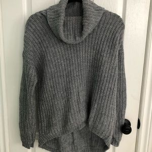 FOREVER 21 Cowl Neck Knit Sweater